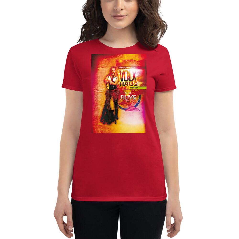 "Fashion Fit-T-Shirt für Damen ""#NOMIMIMI"""