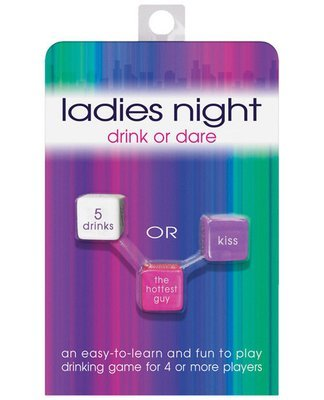 Ladies Night Drink or Dare Dice Game