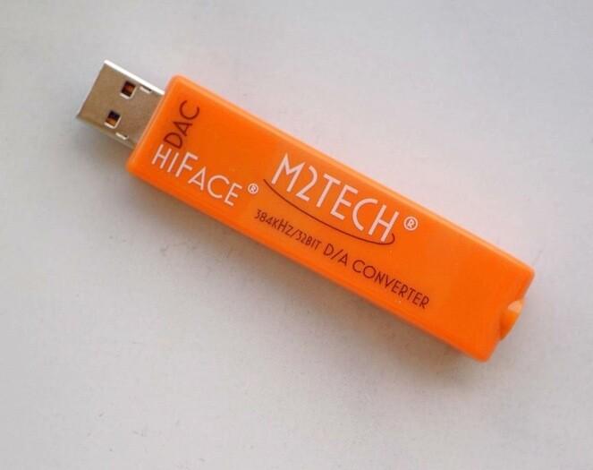 M2Tech hiFace DAC