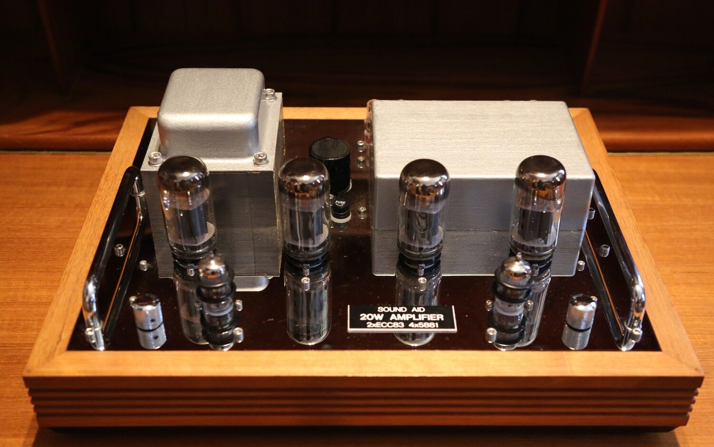 Sound Aid Valkyrie 20w valve amplifier