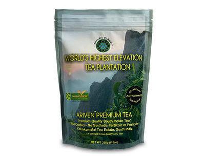 Ariven Black Tea: From the World's Highest Elevation Tea Plantation 250gms