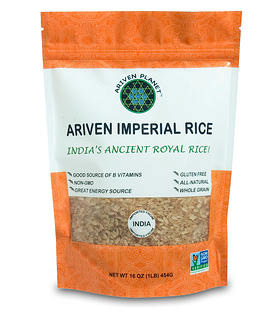 Ariven Imperial Rice- The Royal Heirloom Rice of India