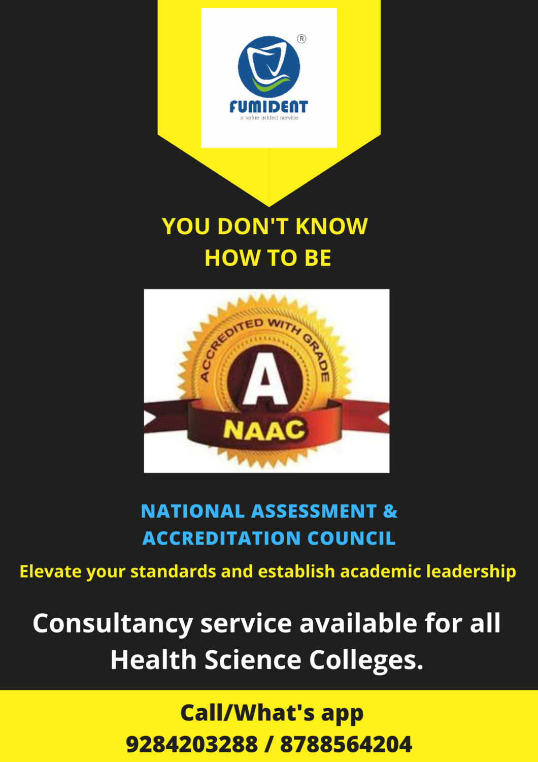 """""""NAAC"""" CONSULTANCY SERVICE"""