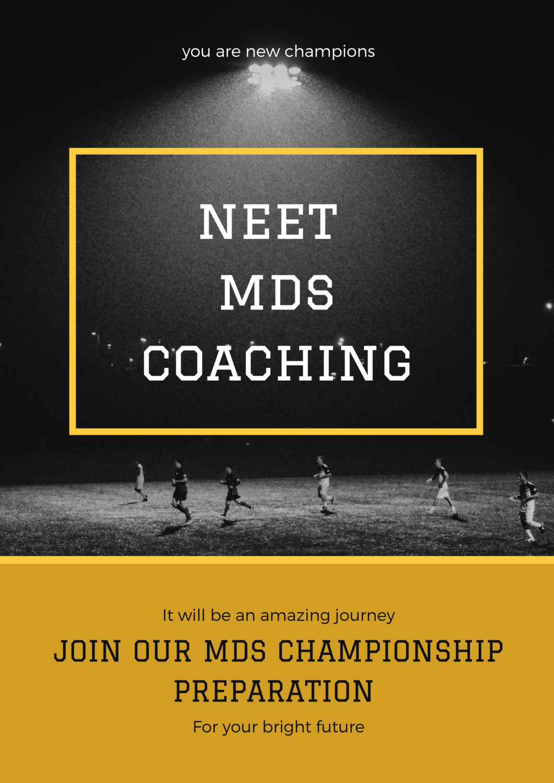 NEET MDS COACHING