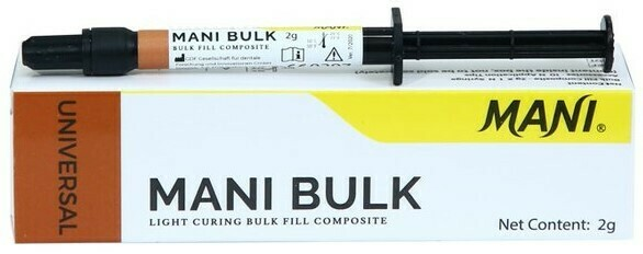MANI BULK (BULK FILL COMPOSITE)  AVAILABLE SHADE-UNIVERSAL