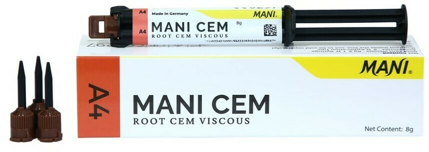 MANI CEM -ROOT CEM VISCOUS (DENTAL CEMENT)