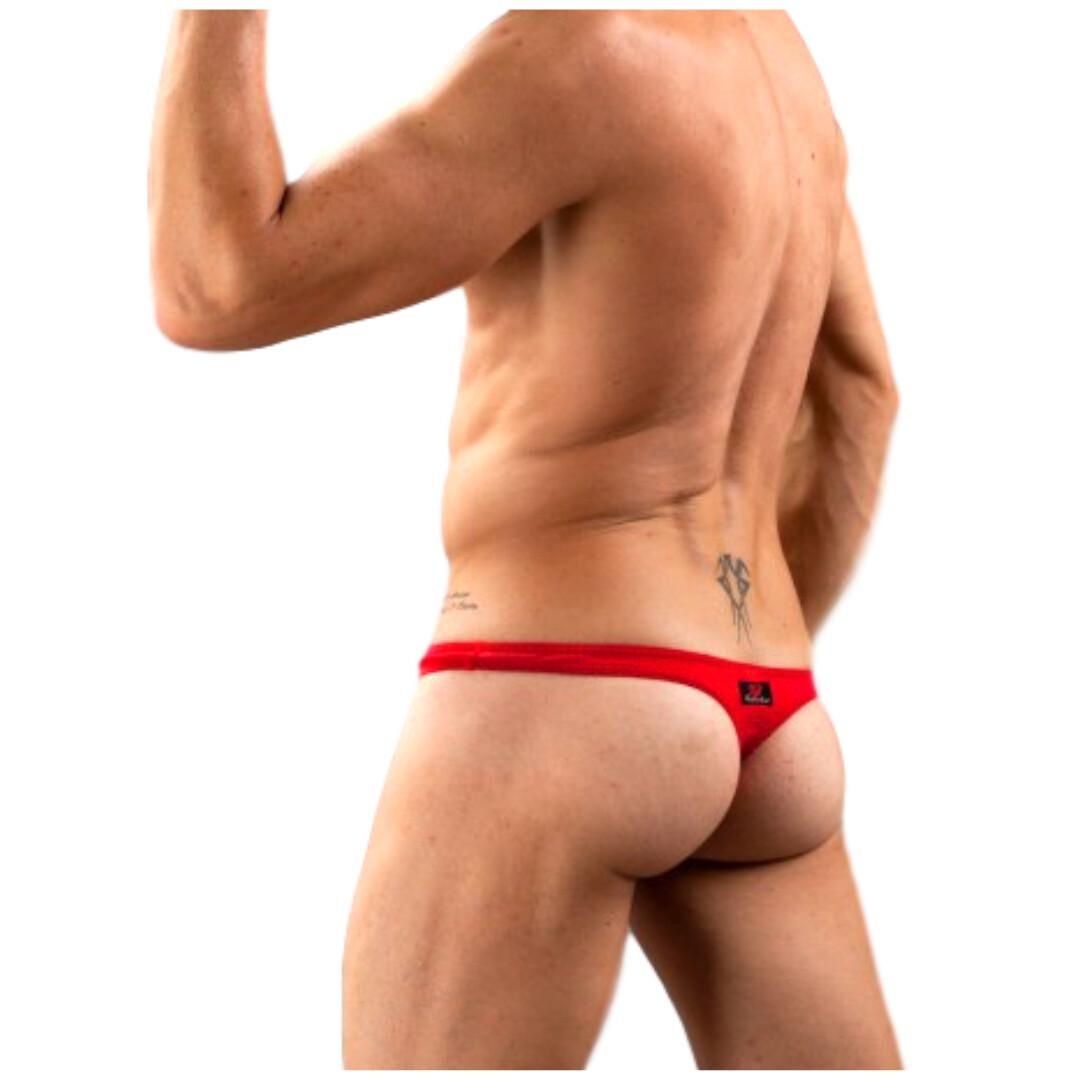 Tangas hombre, modelo único y original, Dared rojo