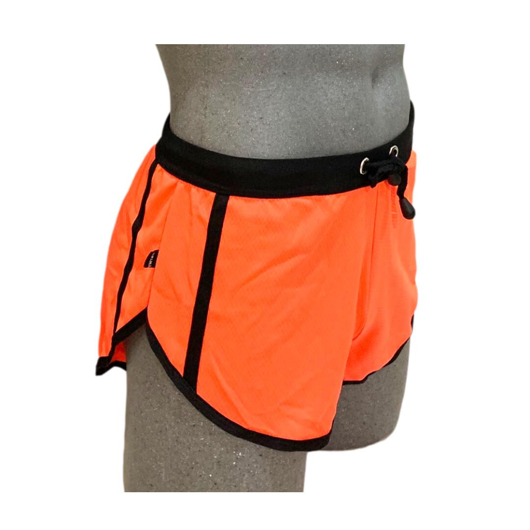 Short corto para hombre, modelo naranja
