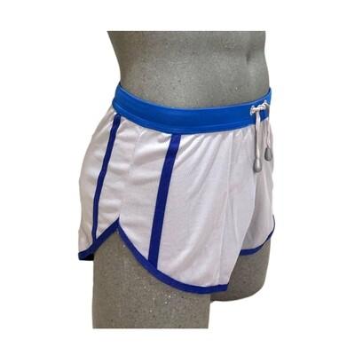 Shorts cortos para hombre cómodos, gris-azul