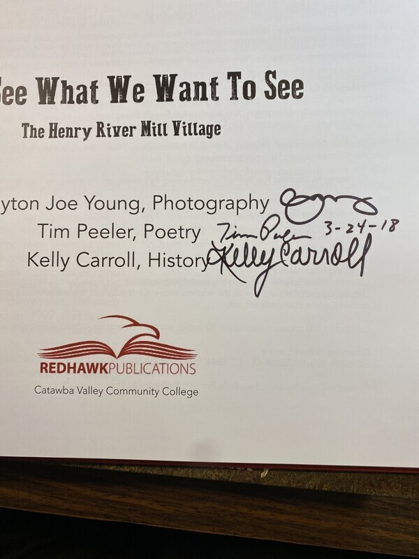 We See What We Want to See AUTOGRAPHED