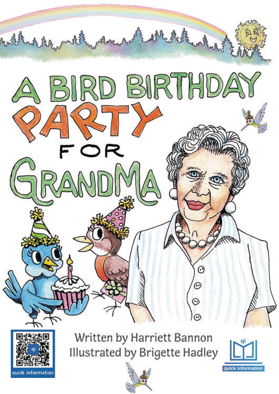 A Bird Birthday Party for Grandma