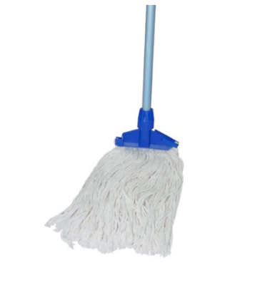 Wet Mop Cotton Bleached Set