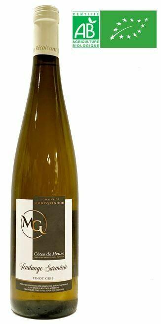 VIN BLANC - Pinot Gris- Vendange Surmûrie