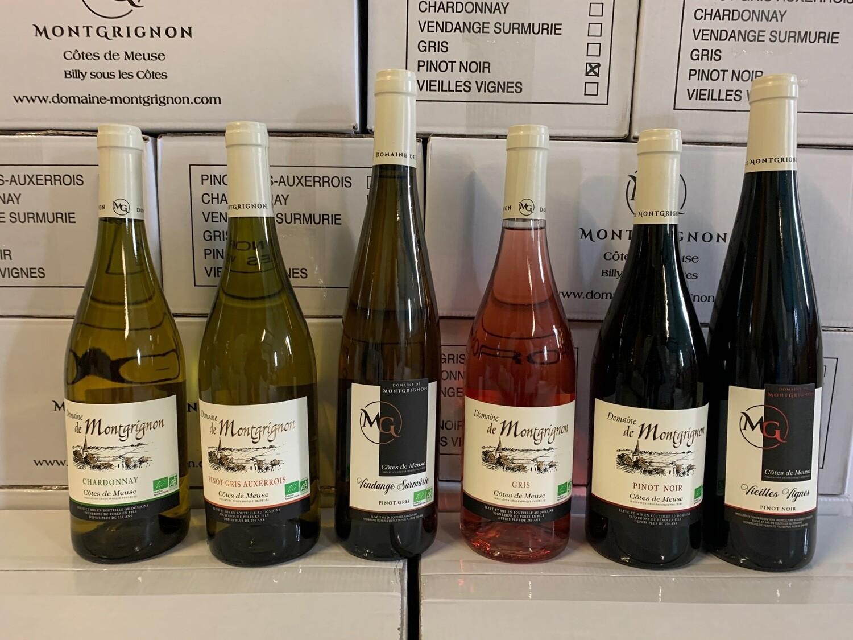 Carton Découverte ensemble de la gamme Vin