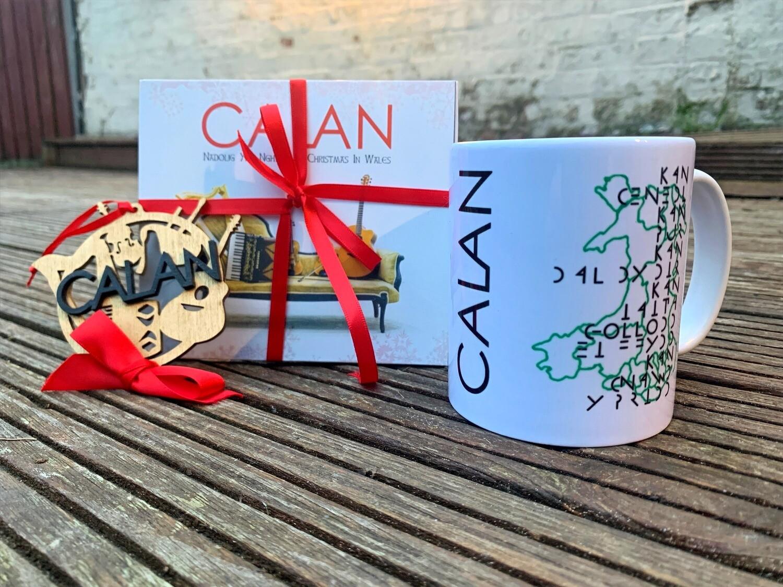 Christmas Bundle - Bauble, 'Christmas in Wales', CD, Kan Mug