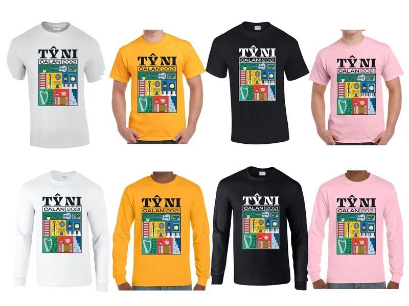 'TY NI' - Limited Edition Long/Short Sleeve T Shirt
