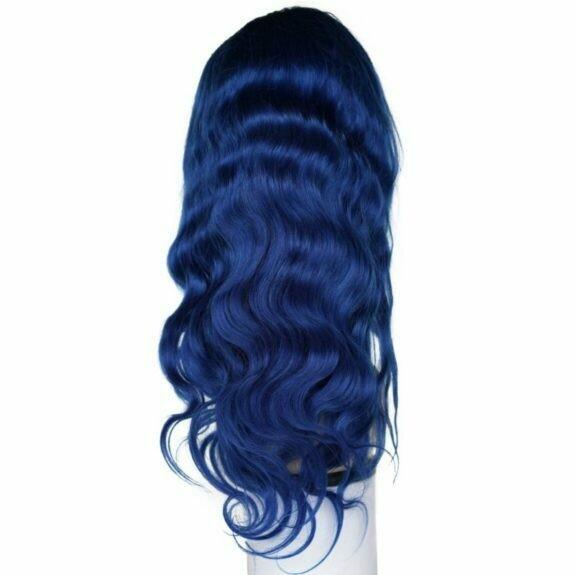 Blue Sapphire Lace front Wig