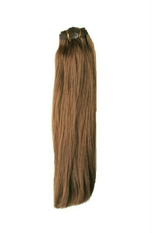 Chestnut Clip in Extensions