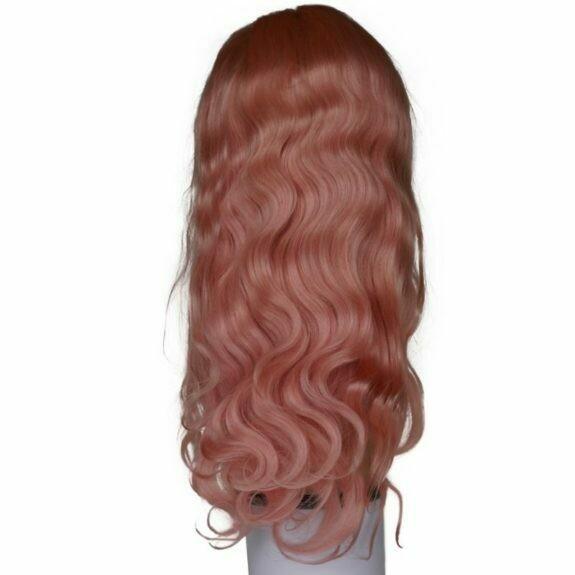 Pink Blush Lacefront Wig