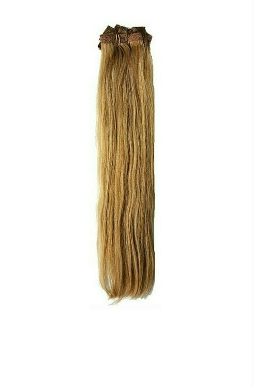 Dirty Blonde Clip in Extensions