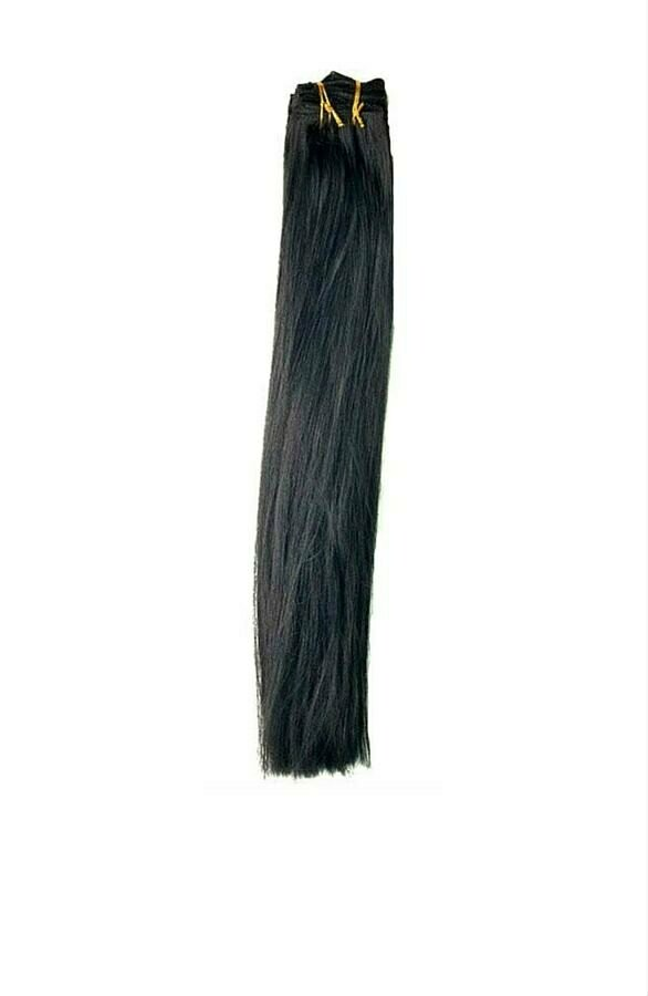 Jet Black Clip in Extensions