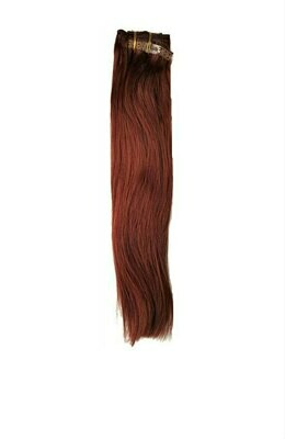 Cherry Red Clip in Extensions