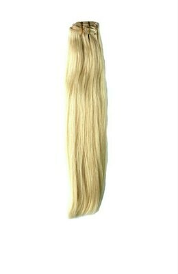 Russian Blonde Clip in Extensions