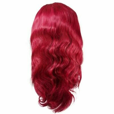 Burgundy Body Wave Lace Font Wig