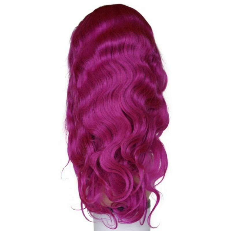 Purple Pop Body Wave Lace Front Wig