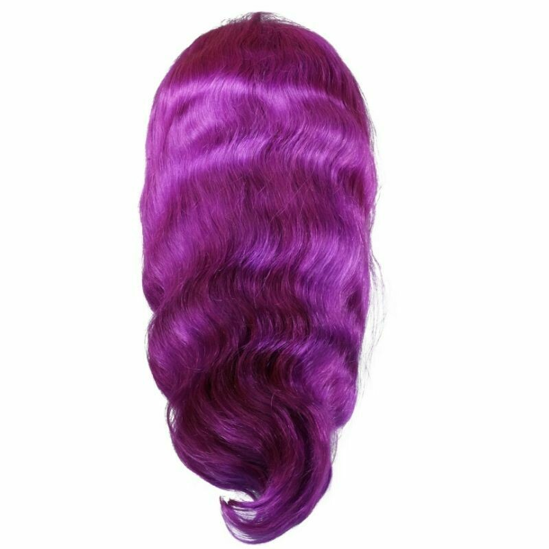 Purple Lush Body Wave Lace Front Wig