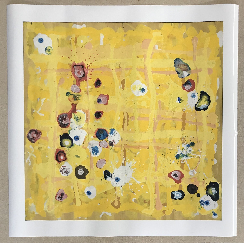 Sunshine Flowers print