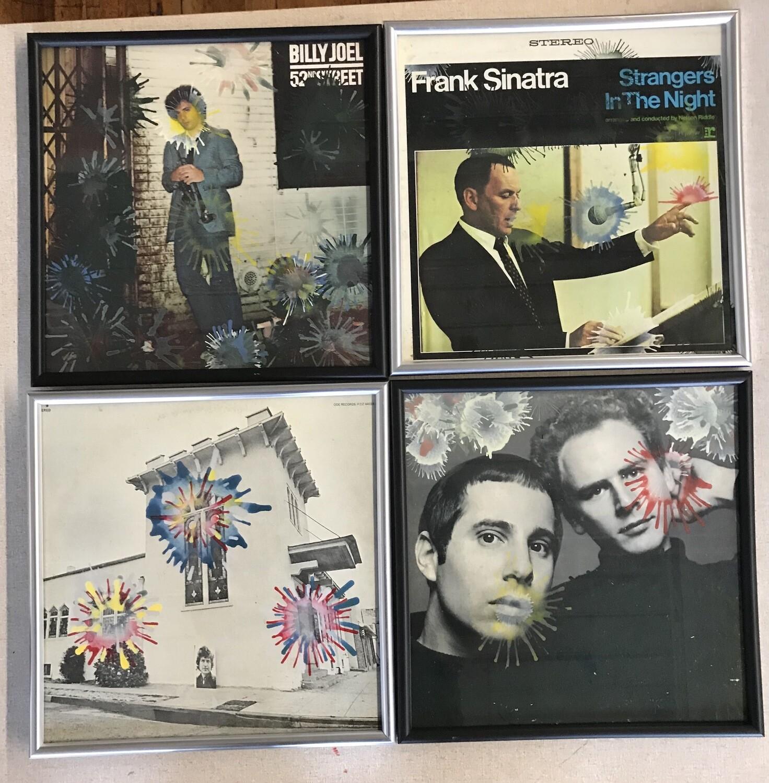 Painted Albums, Original paintings