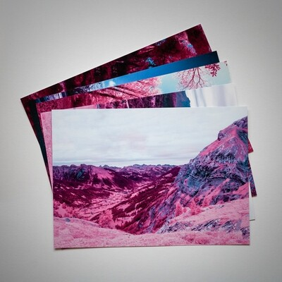 Sanetsch Valley Post Card
