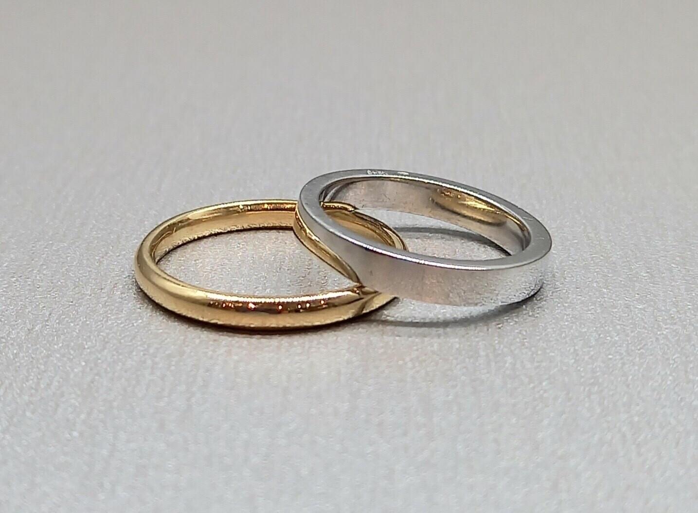 Sortija alianza de boda en oro amarillo