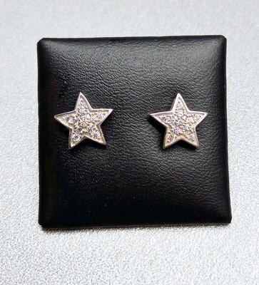 Pendientes Estrella de plata