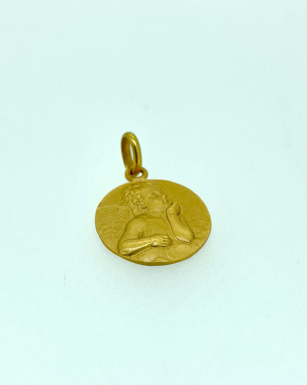 Medalla de oro angelote, 16 mm