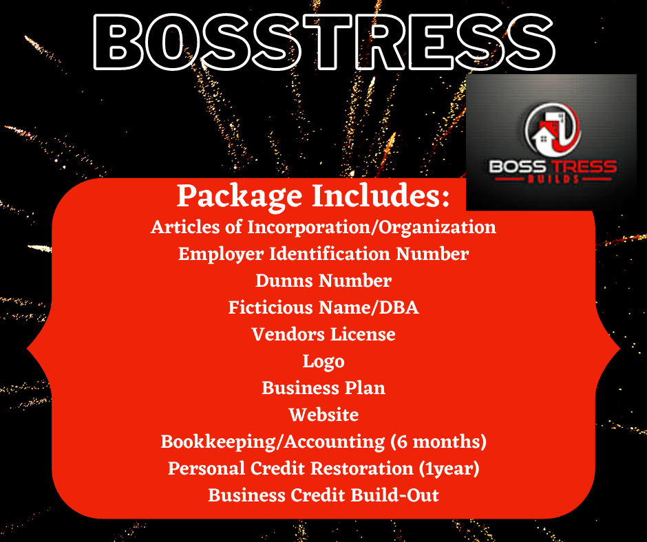 """Bosstress"" Business Start-Up Package"