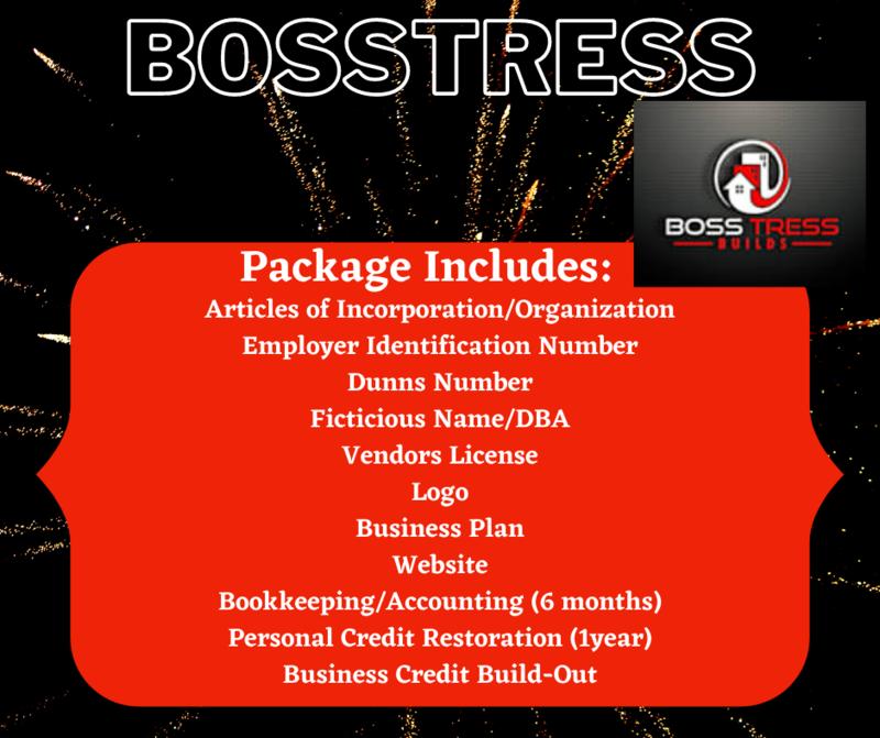 """""""Bosstress"""" Business Start-Up Package"""