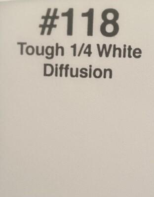"""1/4 TOUGH WHITE DIFF 20"""" X 24"""""""