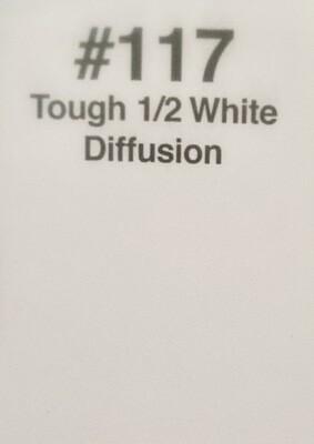 """1/2 TOUGH WHITE DIFF. 20""""X 24"""""""