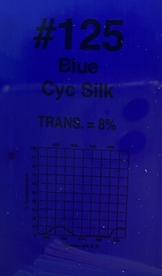 "BLUE CYC SILK 20"" X 24"""