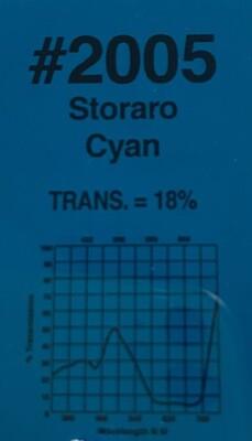 """CYAN STORARO 20"""" X 24"""""""