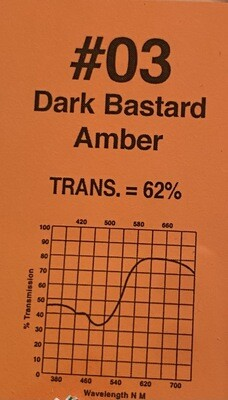 "DARK BASTARD AMBER 20""X 24"""