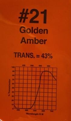 """GOLDEN AMBER 20"""" X 24"""""""