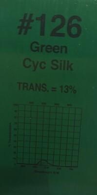 "GREEN CYC SILK 20"" X 24"""