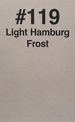 "LIGHT HAMBURG FROST 20"" X 24"""