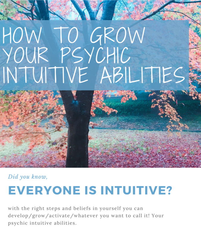 How to Grow Your Intuitive Abilities Workbook