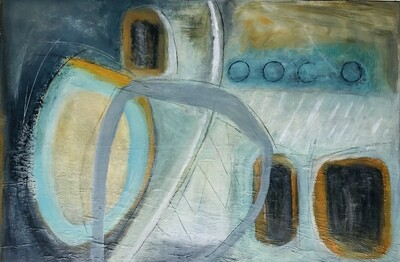 Maritime Abstract - SOLD