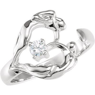 Open Ring, .925 SS
