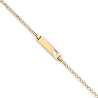 14k Baby ID Curb Bracelet